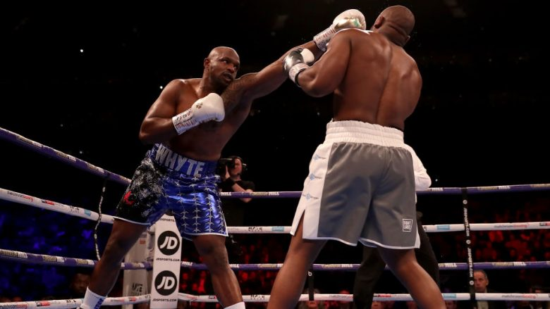 Diliian Whtye dhe Derek Chisora (Foto: Richard Heathcote/Getty Images/Guliver)