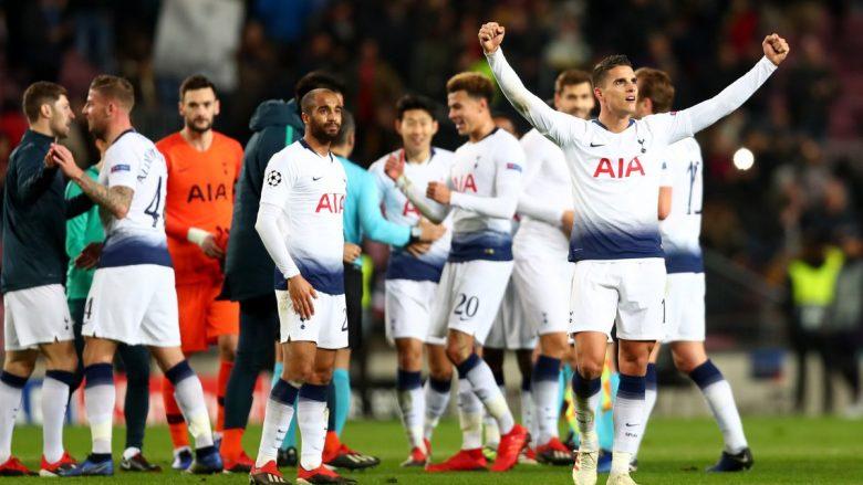 Tottenham dhe Liverpool iu bashkohen 15 klubeve që kalojnë tutje në Ligën e Kampionëve, Interit do të luajë në Ligën e Evropës
