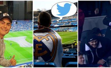 """""""Florentino mos i lejo të largohen"""", Icardi-Dybala në Bernabeu: Tifozët në rrjete sociale i kërkojnë Perezit blerjen e tyre"""