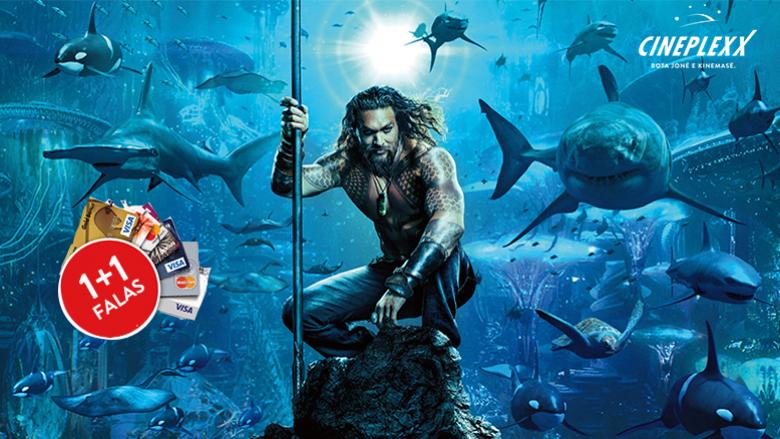 Cineplexx dhe Raiffiesen Bank me super-ofertë të biletave për premierën e Aquaman