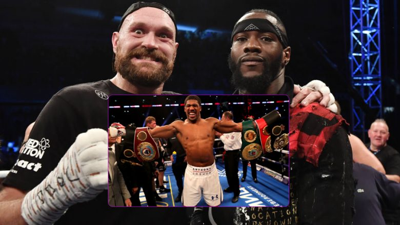 Tyson Fury, Anthony Joshua, Deontay Wilder (Foto: Getty Images/Guliver)