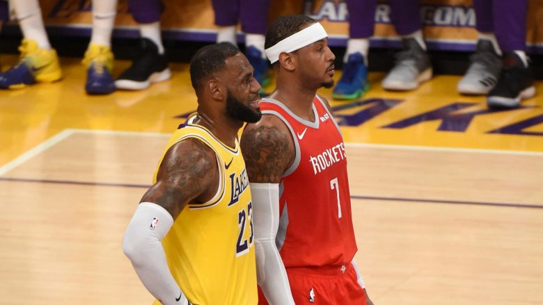 LeBron James do ta sjell Carmelo Anthonyn në Lakers