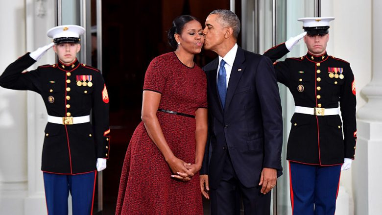 Barack Obama dhe Michelle Obama. Foto: Kevin Dietsch-Pool/Getty Images/Guliver