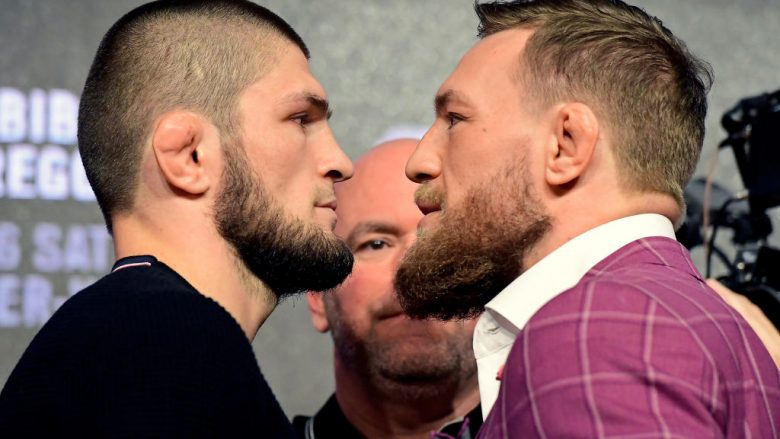 Khabib Nurmagomedov dhe Conor McGregor (Foto: Steven Ryan/Getty Images/Guliver)