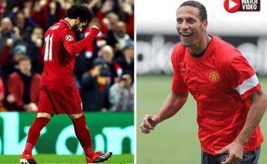 Tifozët e Liverpoolit nuk mund ta besojnë se legjenda e Manchester United, Rio Ferdinand iu gëzua aq shumë golit të Mohamed Salah