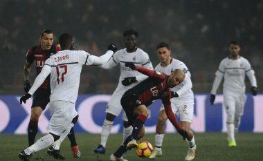 Milani luan pa gola ndaj Bolognas