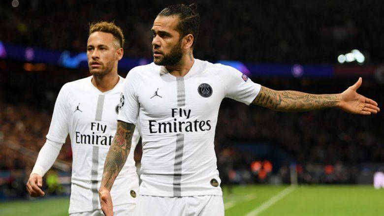 Neymar dhe Dani Alves (Foto: Shaun Botterill/Getty Images/Guliver)