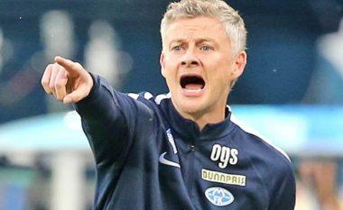 Zyrtare: Solskjaer trajner i Unitedit