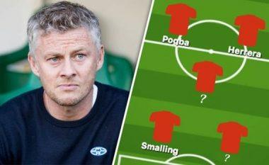 Tri formacionet e mundshme të Solskjaerit te Manchester United