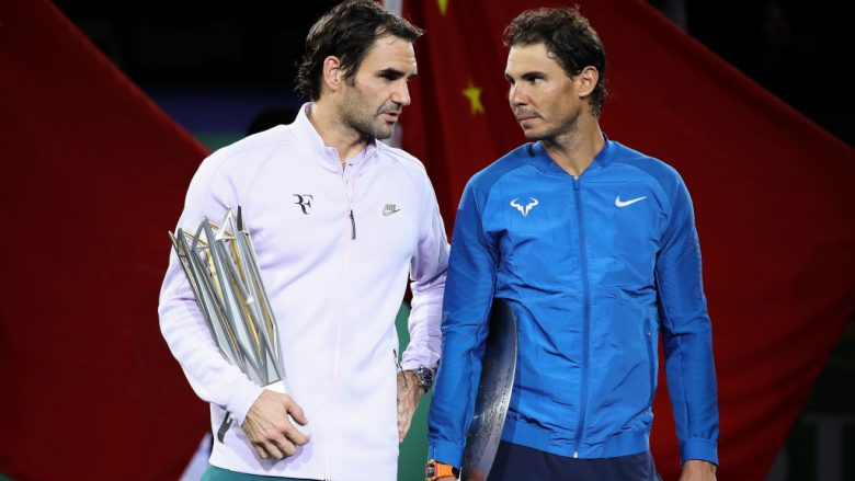 Roger Federer dhe Rafael Nadal (Foto: Lintao Zhang/Getty Images/Guliver)