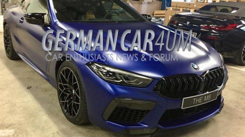 Rrjedhin pamjet e BMW M8 Competition (Foto)