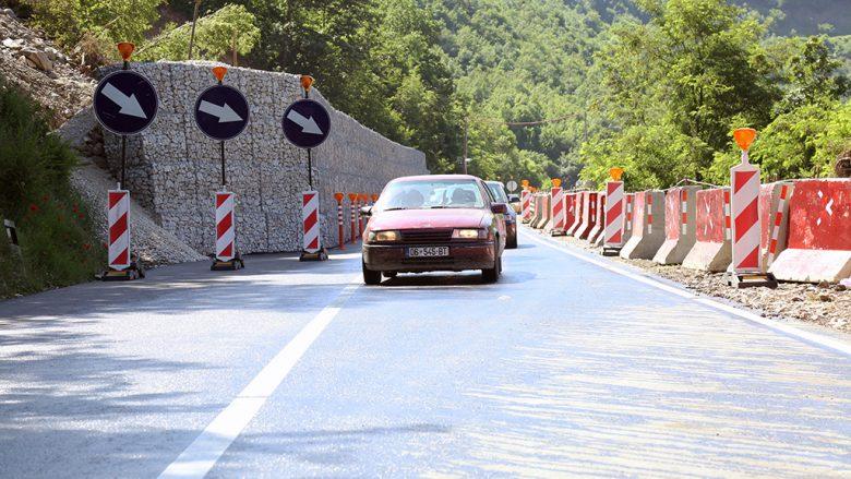 Rruga Kaçanik -Hani i Elezit e mbyllur deri të martën
