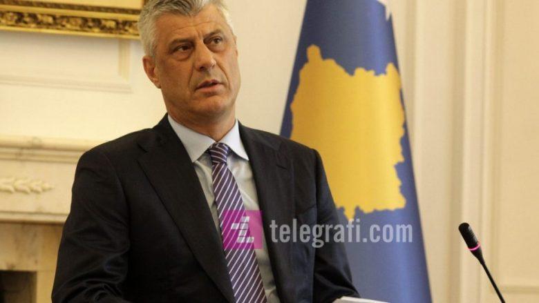 Thaçi: Ekipi negociator më 8 janar do të jetë në Bruksel, ndërsa unë për skijim në Brezovicë