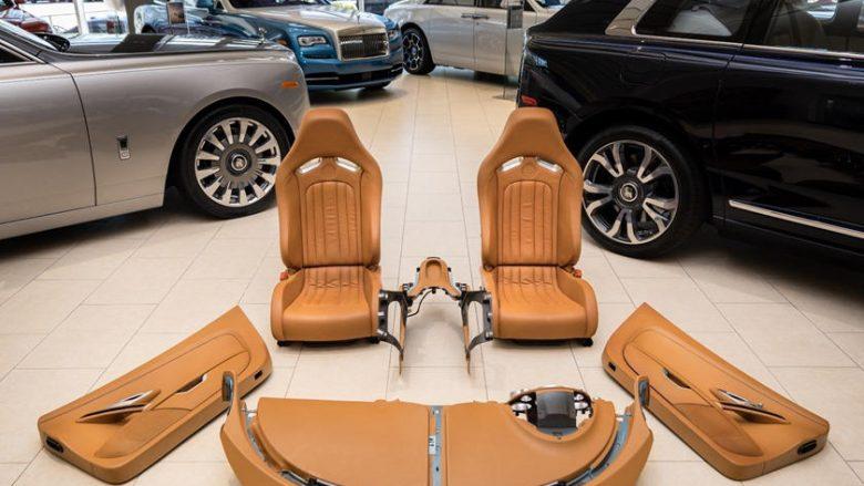 Vetëm enterieri i këtij Bugatti Veyron kushton më shtrenjtë se një veturë luksoze (Foto)