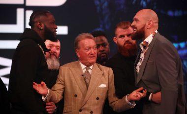 Wilder e quan frikacak Tyson Furyn që nuk e zhvilloi menjëherë rimeçin ndaj tij