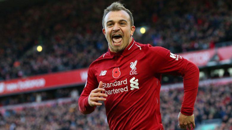 Shaqirit i pëlqeu festimi i Kloppit ndaj Evertonit: Nuk ishte mosrespekt për kundërshtarin, jam i lumtur te Liverpooli