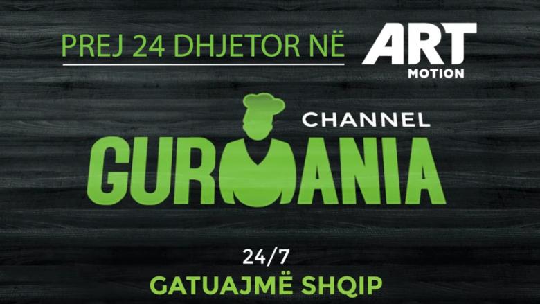 Nga 24 dhjetori vjen Gurmania Channel në Artmotion, kanal dedikuar gatimit
