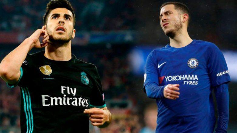 Nëse Chelsea nuk e pranon Kovacicin, Reali është gati të fusë Asension në marrëveshje për Hazardin