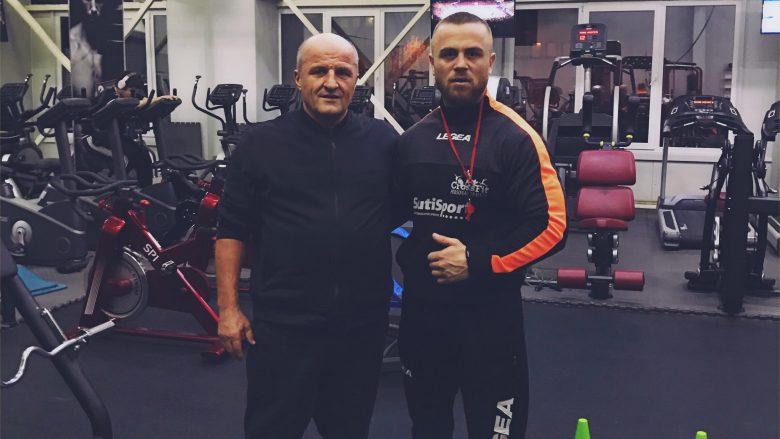 Egzon Shkololli trajnon në 'CrossFit' biznesmenin e njohur nga Peja, Ekrem Lluka