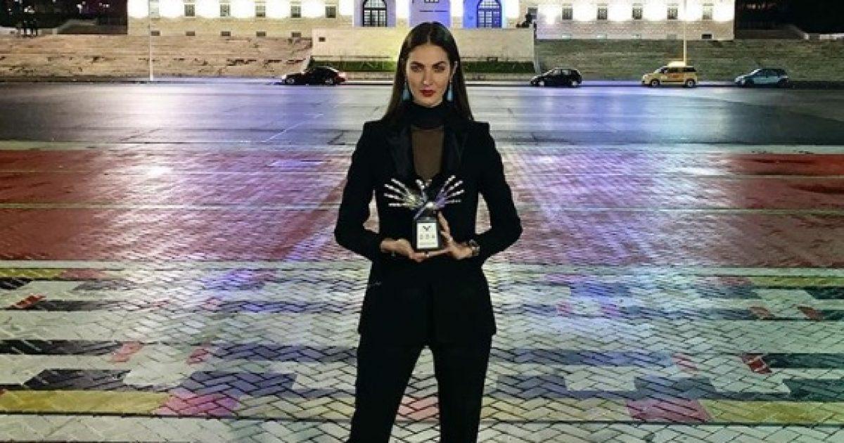 Emina Çunmulaj nderohet me mirënjohje në Pallatin Presidencial në Tiranë