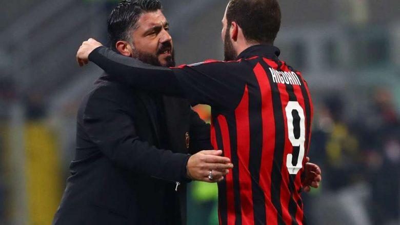 Gattuso dhe Higuain