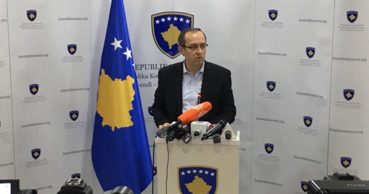 Hoti  LDK nuk merr pjesë në seancën e jashtëzakonshme të thirrur nga koalicion qeverisës dhe PSD ja