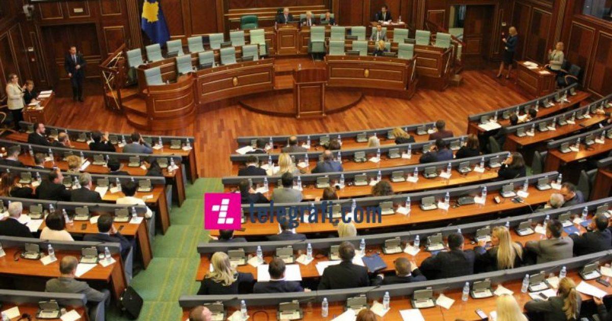 Seanca e jashtëzakonshme e Kuvendit sot në orën 14 00