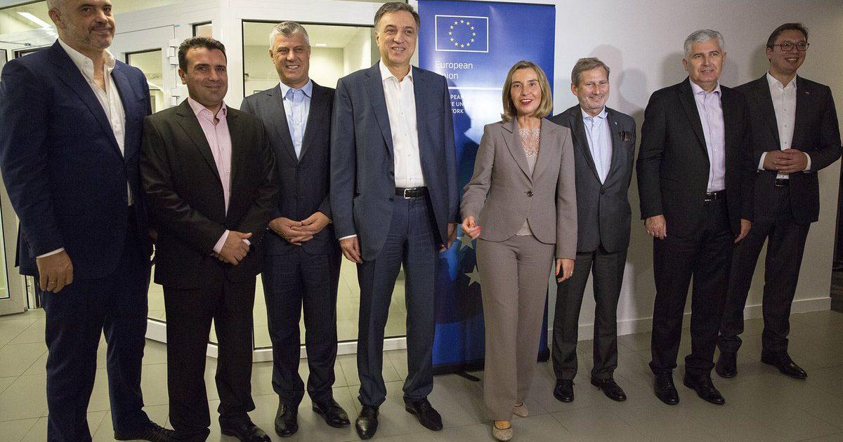 Nesër në Bruksel, Mogherini drekë pune me liderët e vendeve të Ballkanit
