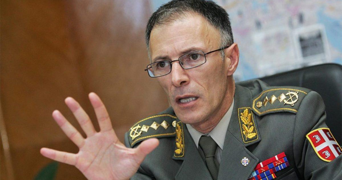 Shefi i Shtabit të ushtrisë serbe  Po përcjellim me vigjilencë situatën në Kosovë