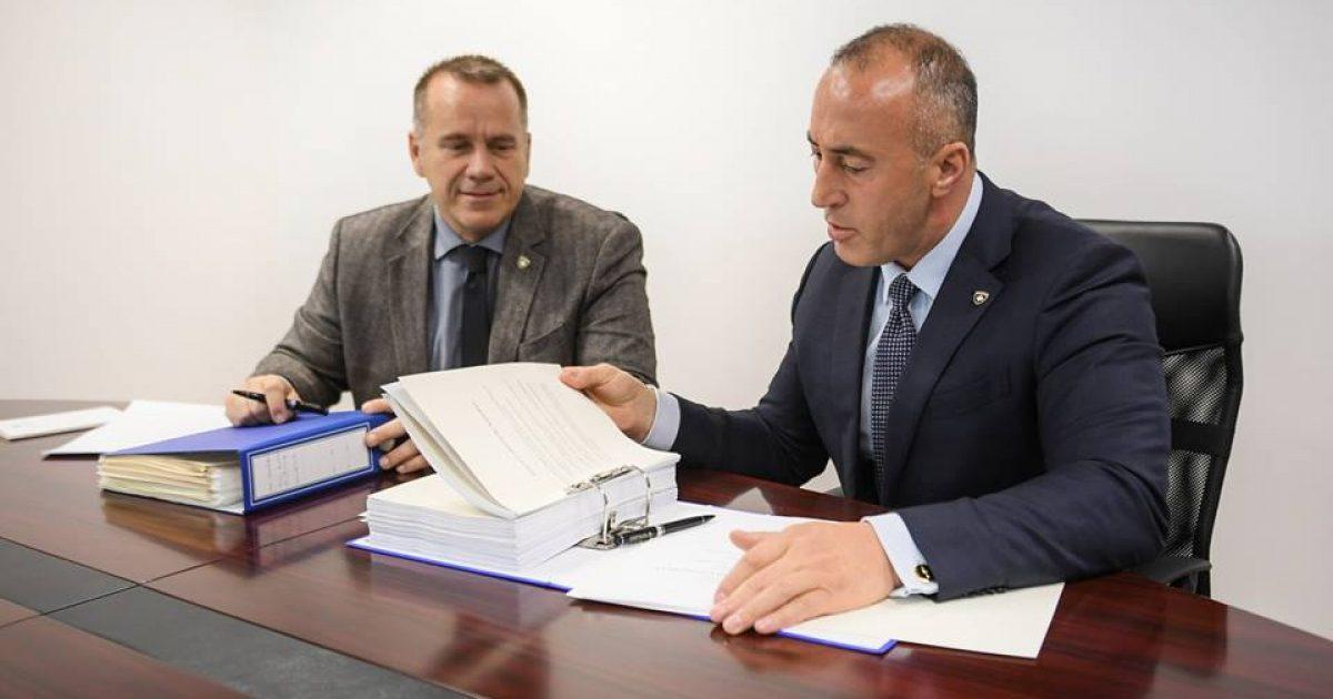 Haradinaj  Do ta prezantojmë draft librin e madh për marrëveshjen obligative me Serbinë