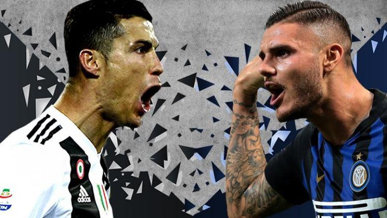 Juventus – Inter, formacionet e mundshme të Derby d'Italia