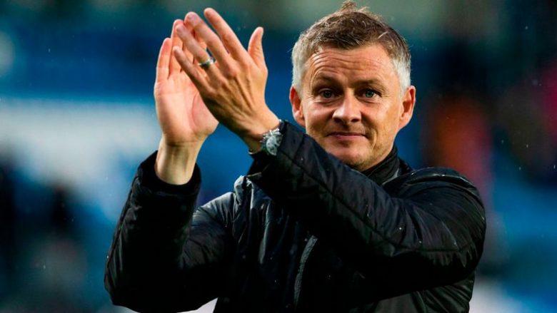Solskjaer vjen si trajner i përkohshëm te Unitedi
