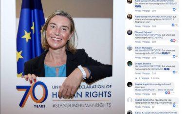 Mijëra kosovarë iu vërsulën për vizat, Federica Mogherini u përgjigjet me një koment