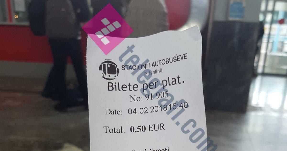 Nga java tjetër qytetarët nuk do të paguajnë bileta në hyrje të Stacionit të Autobusëve
