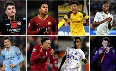 Nëntë adoleshentët që po çmendin botën e futbollit me talentin e tyre, nga Sancho tek De Ligt e Kluivert