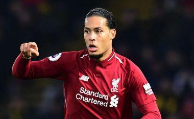 Liverpooli nuk e ka në plan t'i ofrojë Van Dijkut kontratë të re