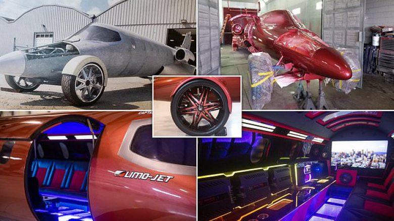 """Aeroplanin e shndërron në """"klub nate"""" me rrota (Foto/Video)"""