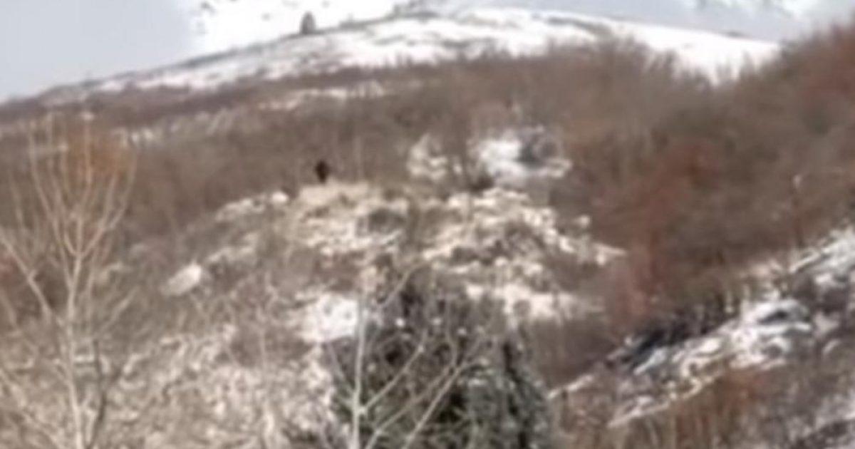 """Është i bindur se ka filmuar në malet e Utah, """"Këmbëmadhin"""" – publikon pamjet për të bindur të tjerët (Video)"""
