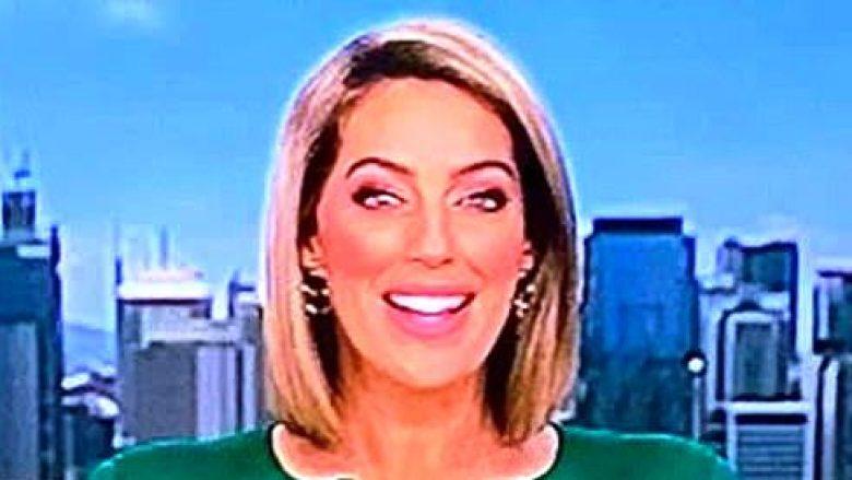 Prezantuesja australiane e lajmeve kritikohet për bluzën që e kishte veshur (Foto)