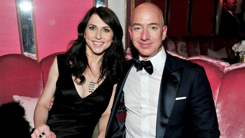 Shkurorëzohet çifti më i pasur në botë, Jeff dhe MacKenzie Bezos i japin fund martesës