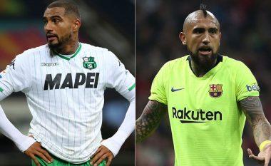Barcelona tani mendon edhe me muskuj: Arturo Vidal dhe Kevin-Prince Boateng, tregojnë se humbja nga Roma nuk është harruar