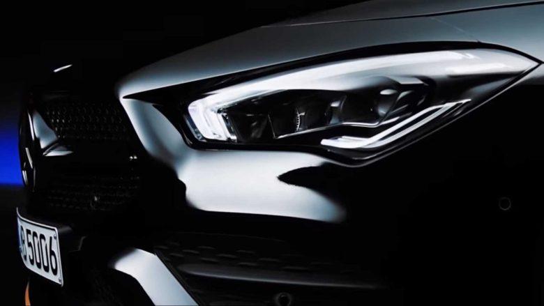 Mercedes CLA spiunohet para prezantimit në CES (Foto/Video)