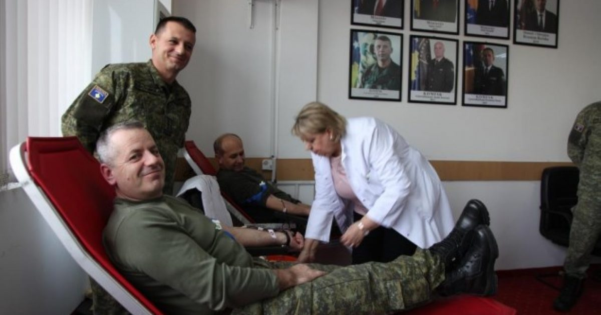 Aksioni i parë humanitar i FSK-së për këtë vit, dhuron gjak