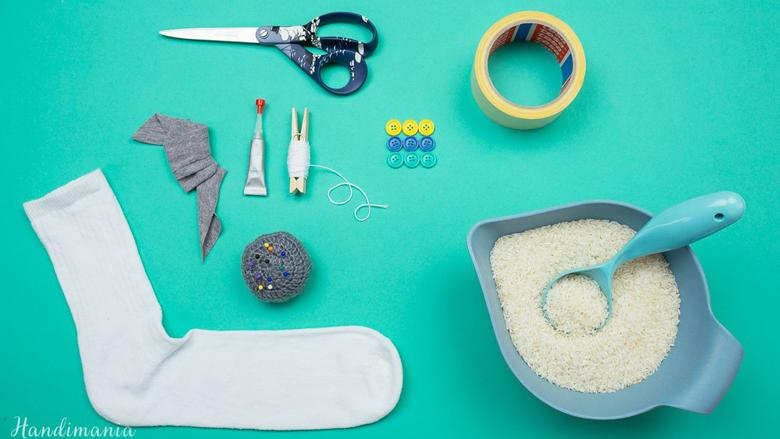Do të ngazëlleheni se çfarë mund të bëni me një çorape (Video)