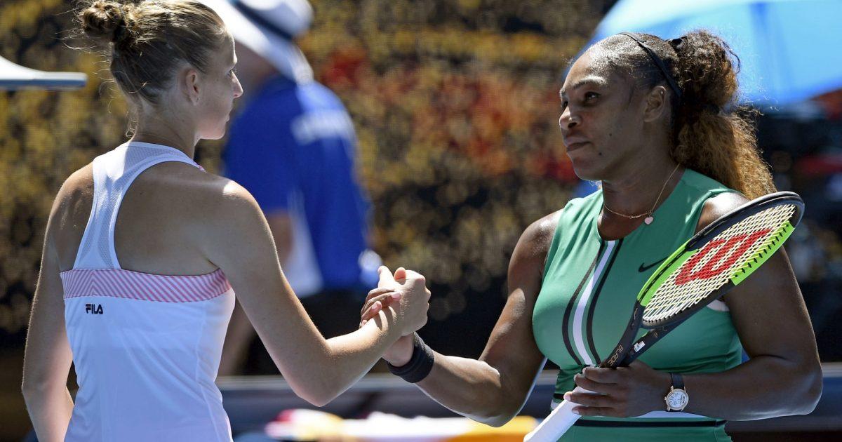 Serena Williams pas pësimit ndaj Katolina Pliskovas: Kjo humbje nuk ishte aq e dhimbshme