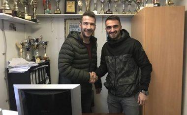 KEK-u nënshkruan me Egzon Qerimin