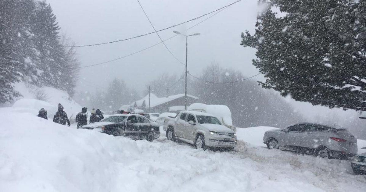 Bora vështirëson qarkullimin drejt Brezovicës