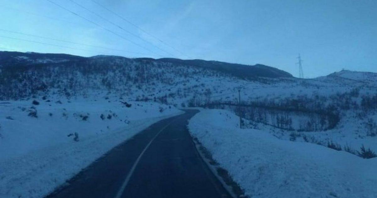 Në veri të Shqipërisë qarkullimi me zinxhirë