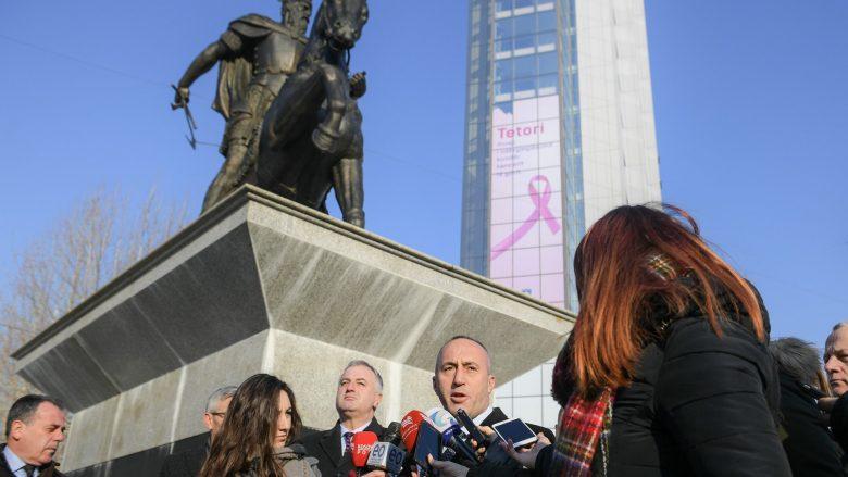 Haradinaj flet për vizitën e sotme të Johannes Hahn