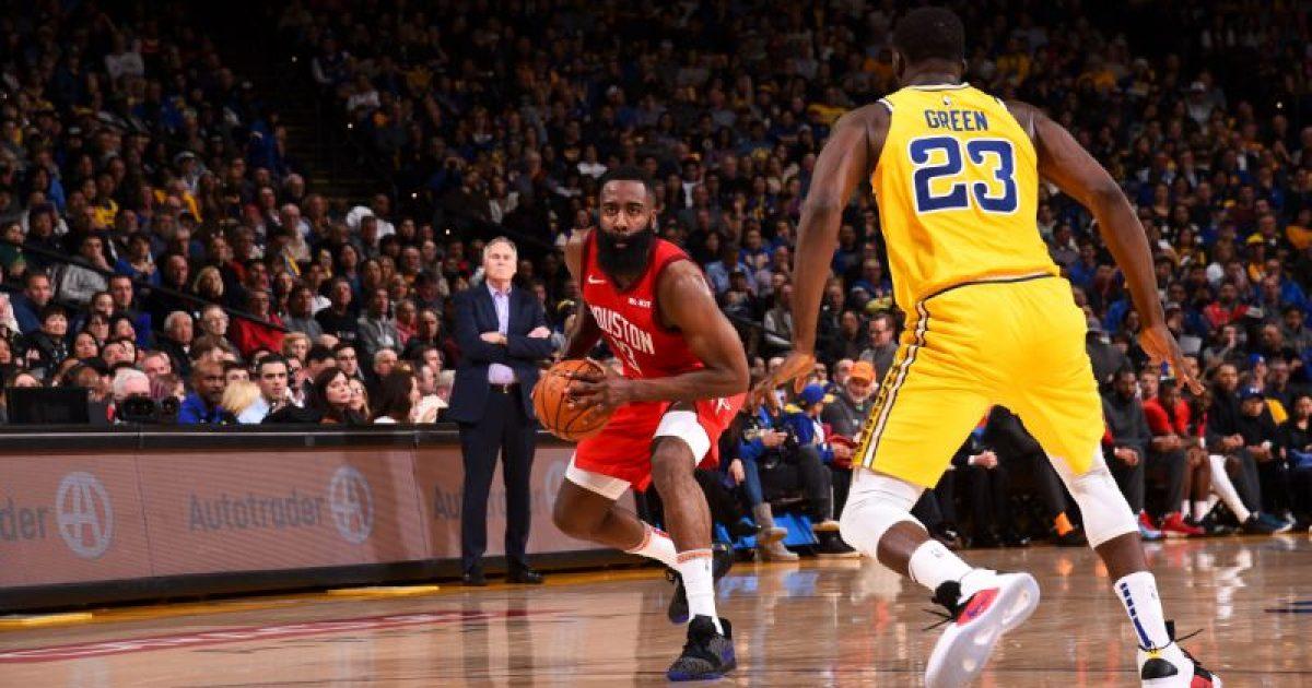 Rikthim fantastik nga Rockets, i jashtëzakonshmi Harden me treshe vendimtare mposhtë kampionin në fuqi